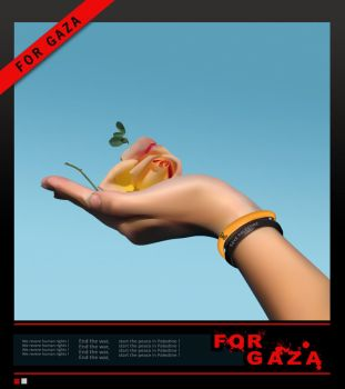 FOR GAZA by jay-cozzy