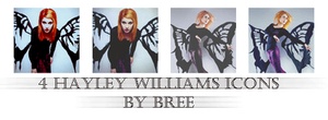 Hayley Williams icons 2 by Lex-Bree