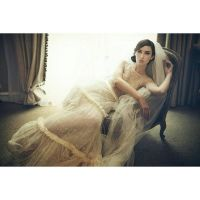 wedding gown by robinpika