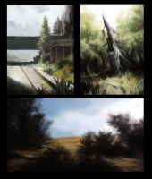 Trio of Speedpaints by JakobHansson