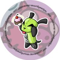 GIR Chibi by RedPawDesigns