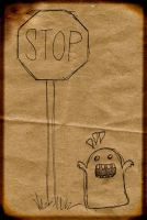 paper bag monster by chunghwa