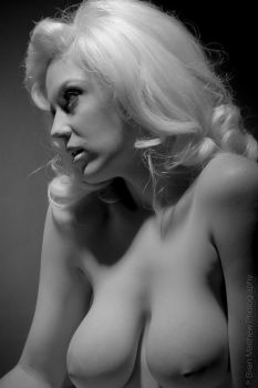 Cherie Nude Portrait by BrianMPhotography
