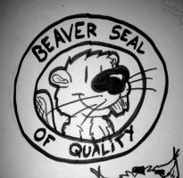 2015-09-05 Beaver Seal Of Quality by reptifur