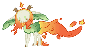 Goo skull pony adopt auction. -clossed- by OfficerMittens