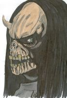 The deathglare of the bull by sir-Finhawk