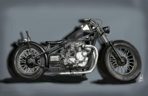 Bens Bike, Dark Version by steverino365