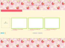 Strawberry - Gallery skin by anineko