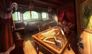 captain's room, hidden object game/hopa game by novtilus