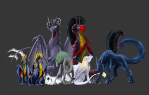 All by InferaDragon