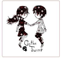 gothic twins by angelmolly