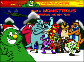 AMT  - Christmas Monsters II by BluebottleFlyer