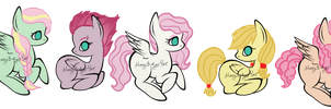Fluttershy Ship Adopts (CLOSED) by HoneyBadgerBeeAdopts