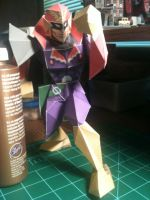 Captain Falcon Papercraft by Dreamparacite