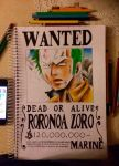 Roronoa Zoro- Dead or Alive WANTED by BrownBeard