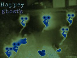 happy ghosts by flamex1991