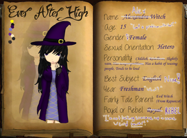 .:EAH:. Alexandra 'Alex' Witch by tashaj4de