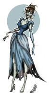 Zombie Cinderella by LaTaupinette