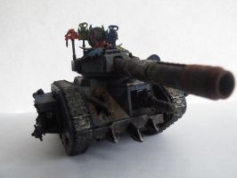 Warhammer Ork looted tank by will-i-am119
