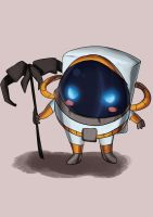 Chibi Nautilus! fan art by Hamzilla15
