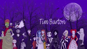 A tribute to Tim Burton by Lttle-Horrors