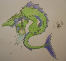 Astrological Dragon: Picses by ninjafoxC3