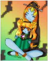 Read to me mommy midna by Danielle-chan