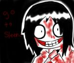 Jeff the killer Hurr by SamBlackSide