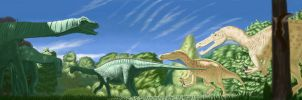 Castille-Leone Dinosauria by Iphicrates