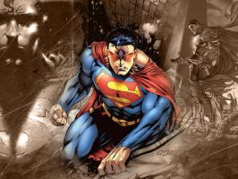 Superman Wallpaper by coramay