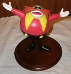 Dr. Eggman Statue by MadForHatters