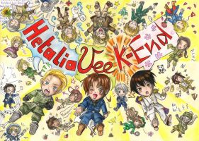 Hetalia Convention Card Contest Entry by Seremia