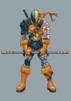 Death Stroke by Riverlimzhichuan