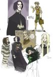 Potter characters by Sally-Avernier