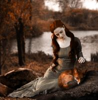 red fox by midnightmind