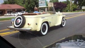 Willys Jeepster by AllHailZ
