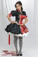 Red and black lolita by OoEdenXoO