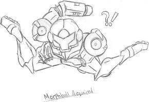 MORPH BALL ACQUIRED. by MaxwellsSilvaHamster