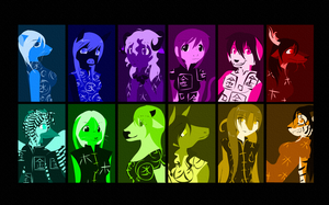 Chinese Zodiac wallpaper by Exploding-Zombies