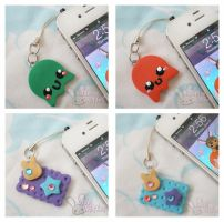 Fairy Kei and Octopi Charms by ChibiWorks