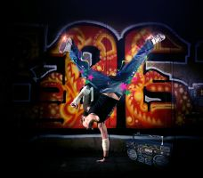 Hip Hop Dancer by sologfx