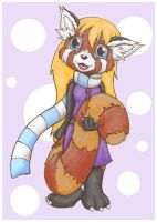 Brandi the Red Panda by lordzasz