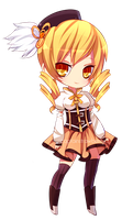 Mami Tomoe Chibi by CaptainStrawberry