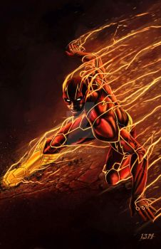 The Flash by 1314