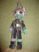 Macha Cat plushie, .hack--sign by Rens-twin