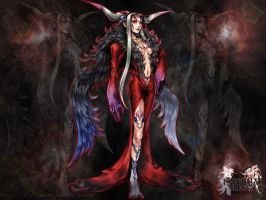 Ultimecia FF:Dissidia serie by RobynKramer