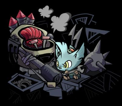 Rumble by inkinesss