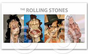 Rolling Stones by RussCook