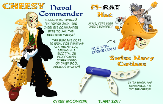 Cheesy Naval Commander by inkwolf