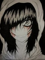 Am I Beautiful? [Jeff the Killer] by Tsukiakari-Aya